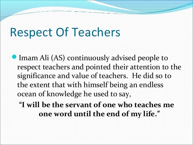 Importance Of Teaching