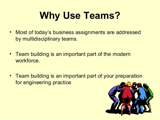 How are teams used in the workplace