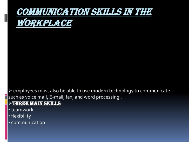 communication skills are important for it professionals information technology essay The 7 most important communication skills an it leader should have everyone wants to tell it pros that they need to develop people skills, but no one really tells what those skills are.
