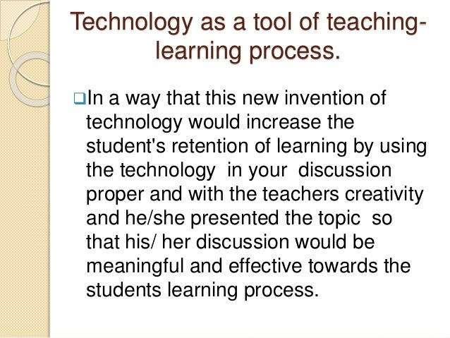the importance of technology in our Need and importance of information technology in educationneed and importance of information technology in education from wikieducator jump to: navigation.