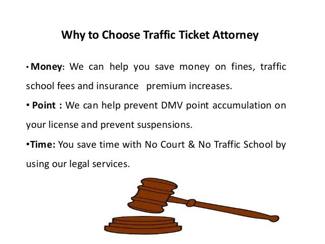 Importance of Traffic Ticket Attorney