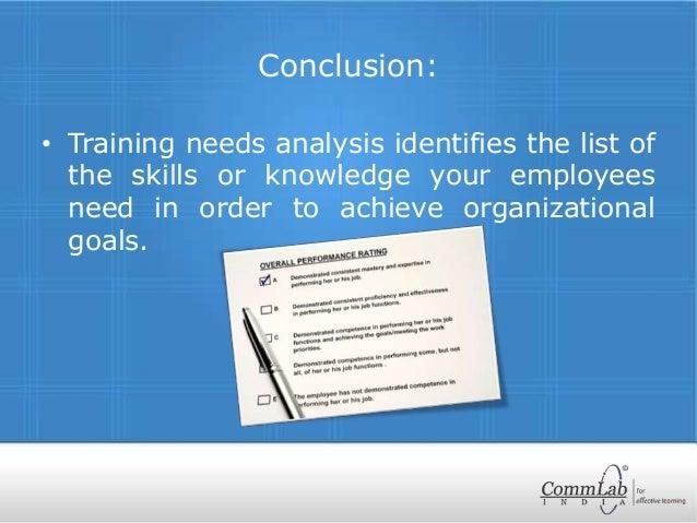 literature review on training need analysis pdf