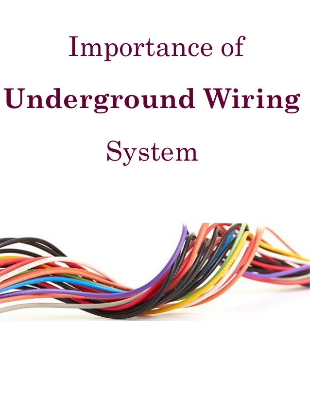 Underground Wiring System : A Comprehensive Guide by We-Bore-It
