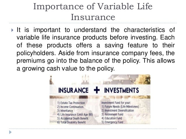 Randy Becker Bellevue - Importance of Variable Life ...