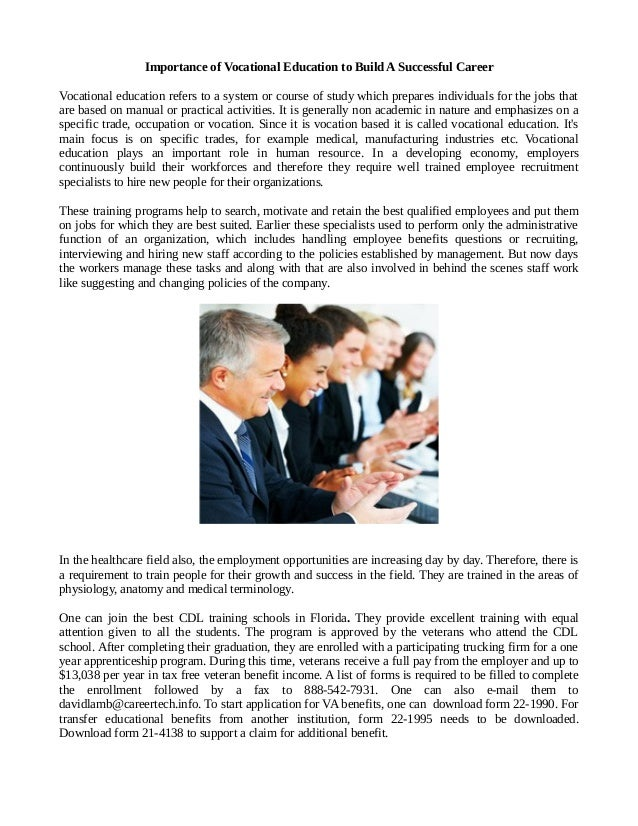 academic qualification determine a successful career