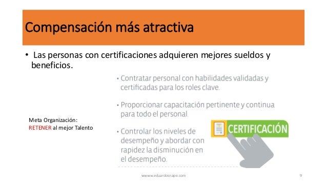 Importancia de la certificación profesional