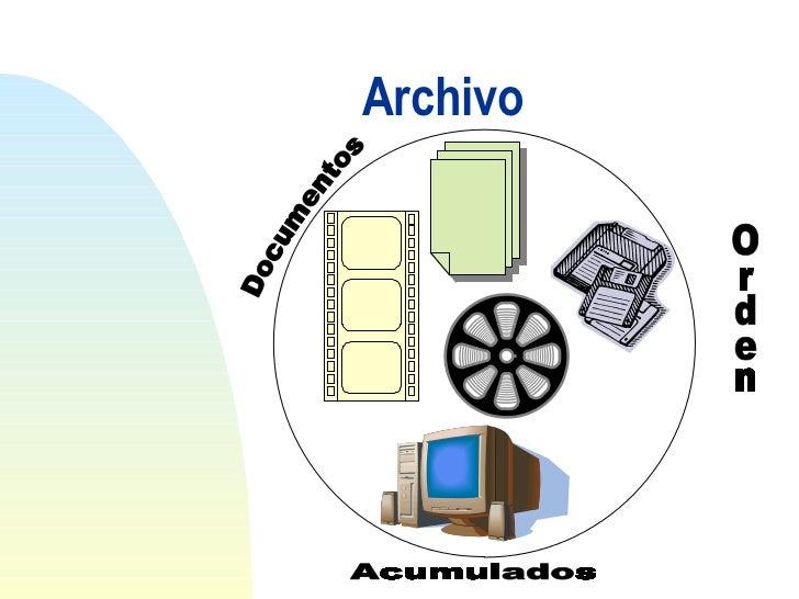 Resultado de imagen para la importancia de los archivos