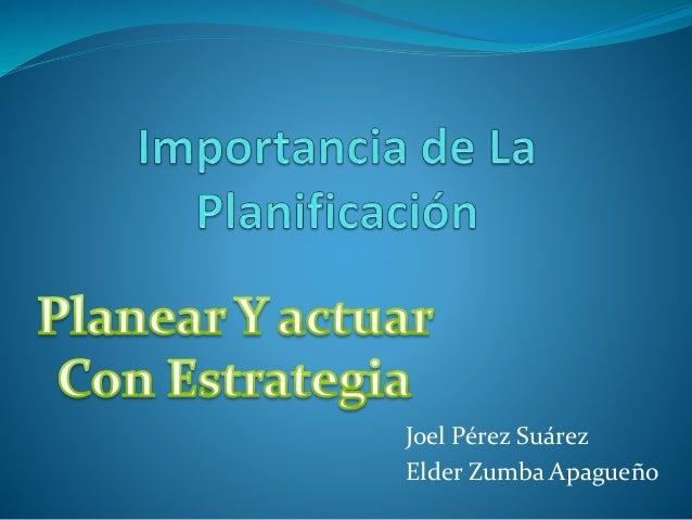 Joel Pérez Suárez Elder Zumba Apagueño