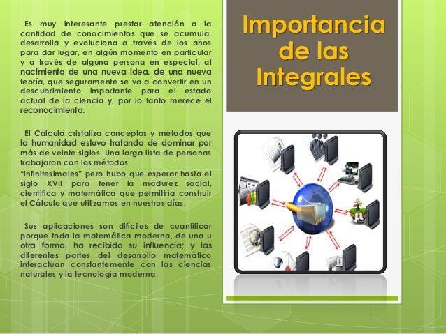 Importancia De Las Integrales