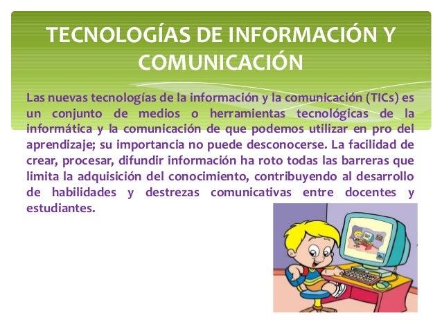 Importancia de las tics en la educacion Slide 2