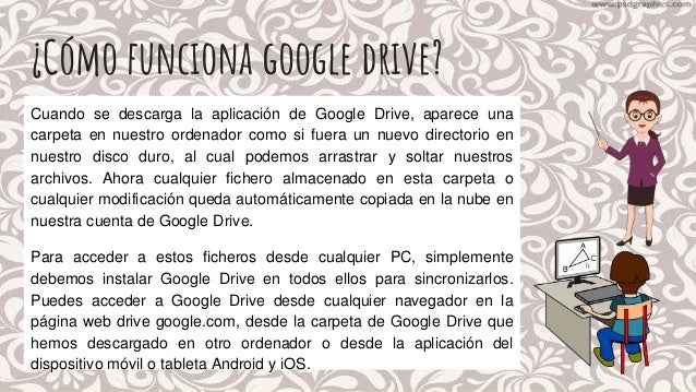 descargar google drive para ordenador