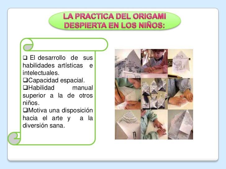 origami y su importancia