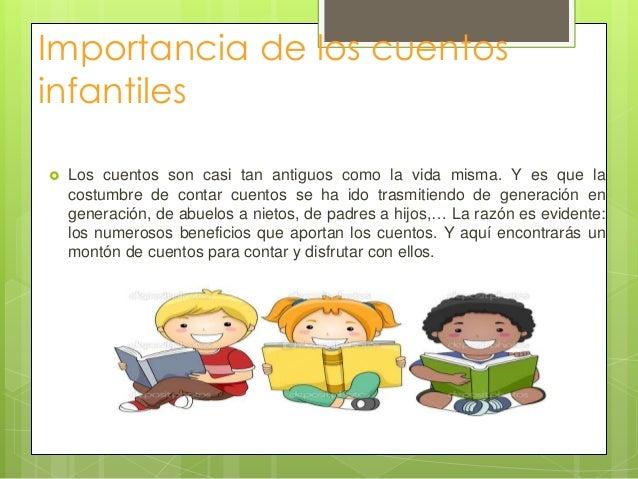 Importancia de los cuentos infantiles for Importancia de los viveros forestales