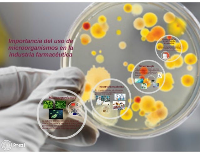 Mxcronrganismus  1:35' tancia del USO de á: ,', :;: ::: :;:  in.   V zrganismos en Ia M M in:   farmacéutica '        Biot...