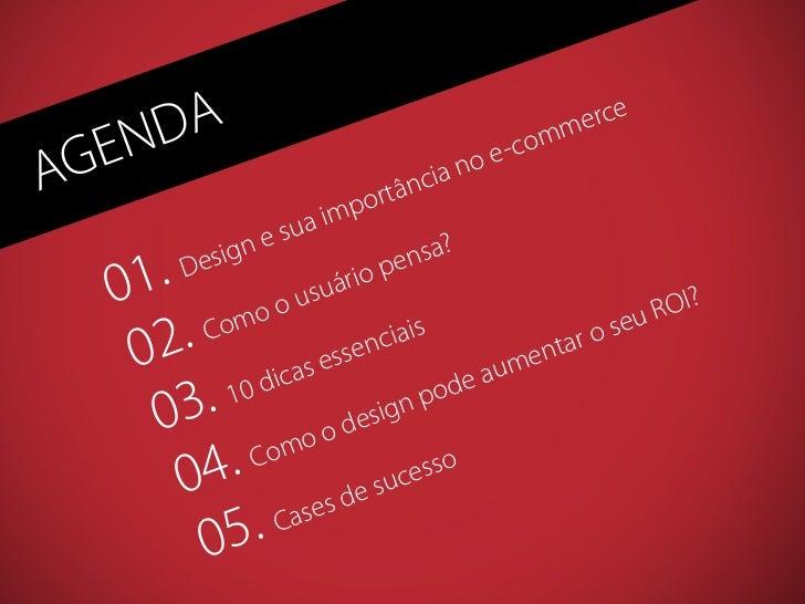 A Importância do Design no E-commerce Slide 3