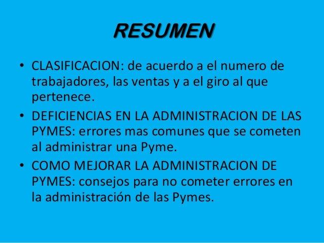 Importancia de una buena administracion en las pymes for Importancia de la oficina