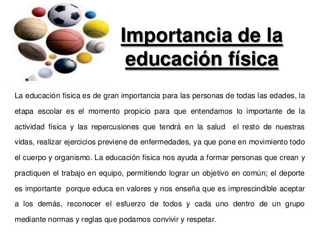 Importancia Y Evolucion De La Educacion Fisica