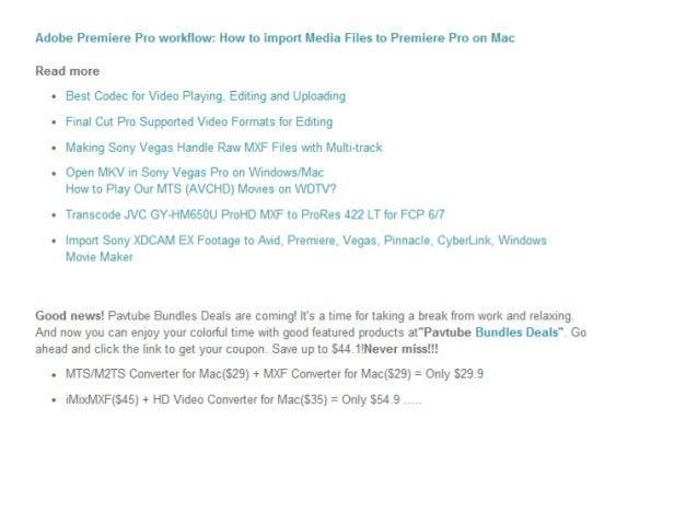 adobe premiere pro slideshow templates - import and edit canon c500 mxf in adobe premiere pro cs