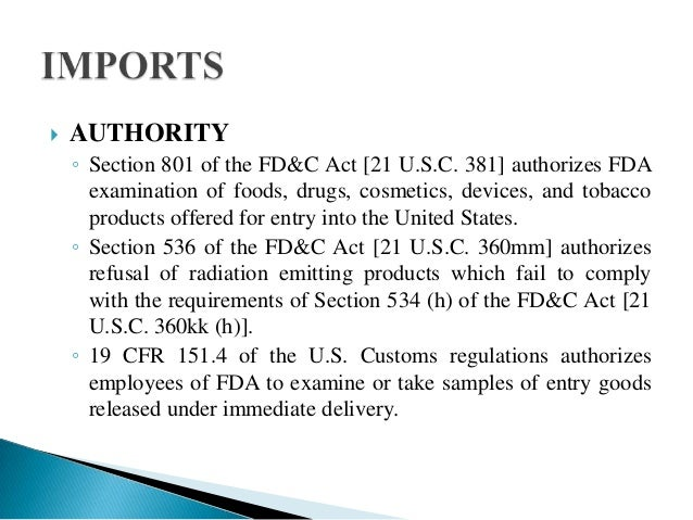 Import and export regulations laws of usa