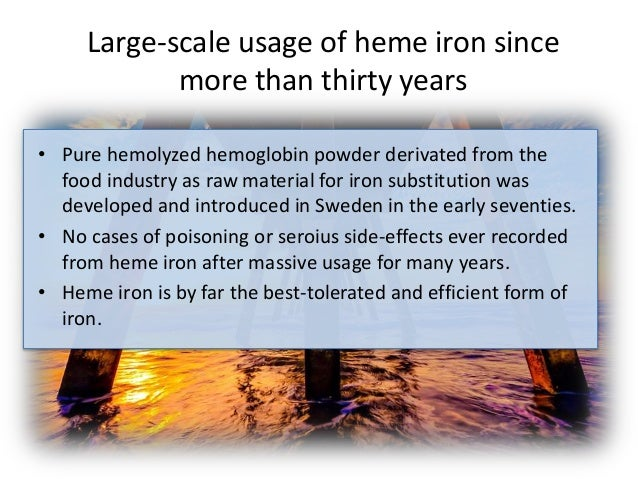 Importan facts you need to know about heme iron.