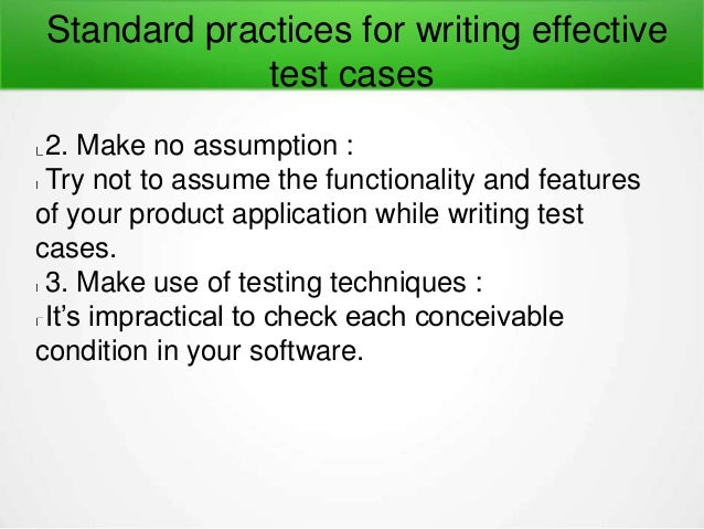 Important guidelines-for-writing-test-cases