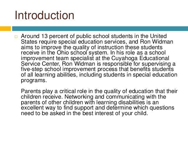 How Can We Improve Special Education >> Important Tips For Parents Of Special Education Students