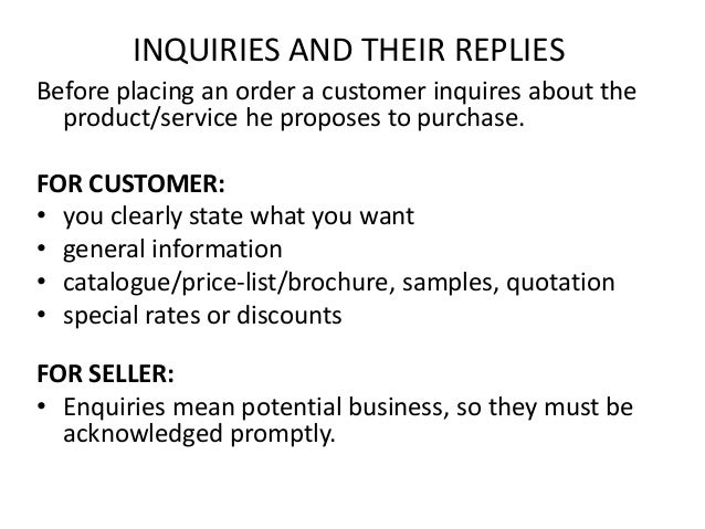 Sample Letter Of Reply Quotation.  Letter of complaint and their replies 2 Important business letters