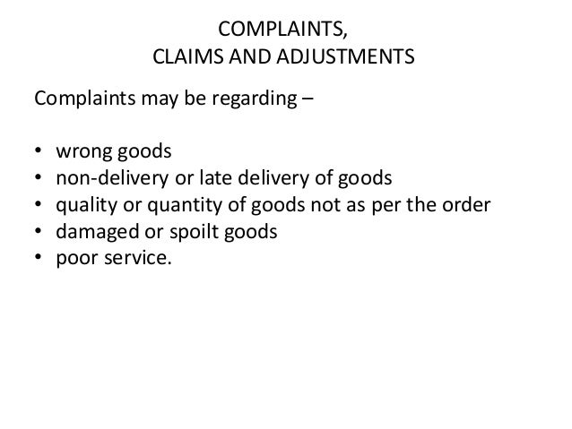 Important business letters order letters 6 complaints claims thecheapjerseys