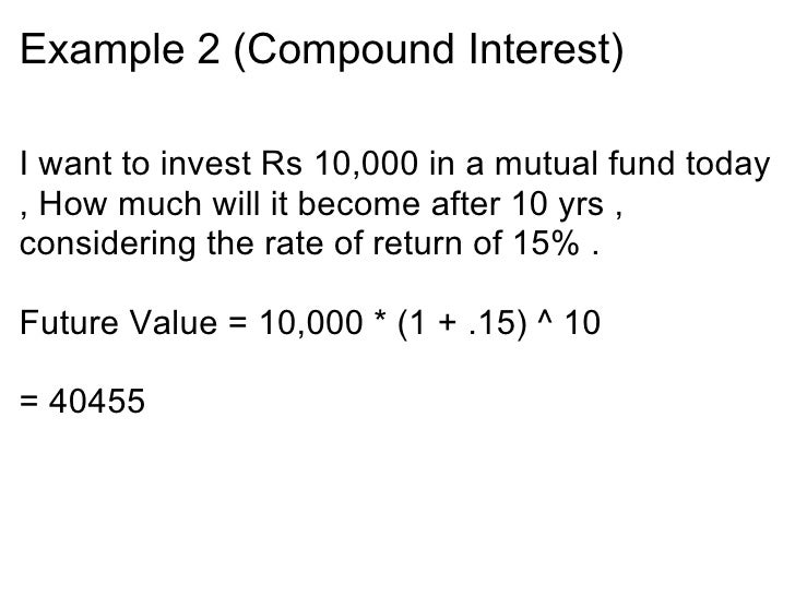 Important Calculations In Personal Finance