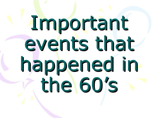 100 most important events in world history