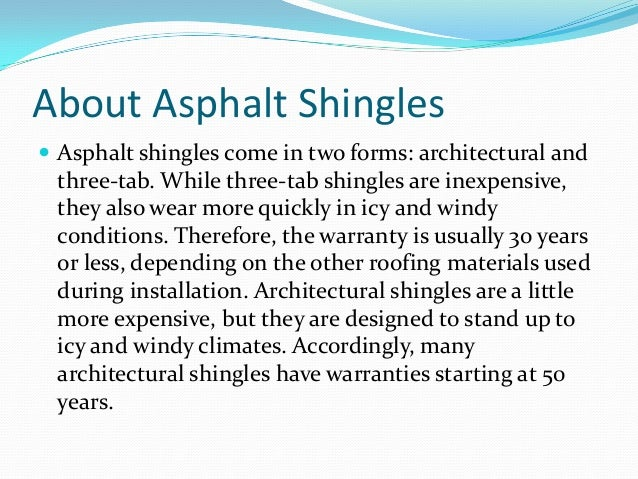 important facts homeowners need to know about shingles