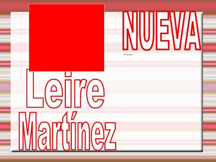 Leire  Martínez  NUEVA