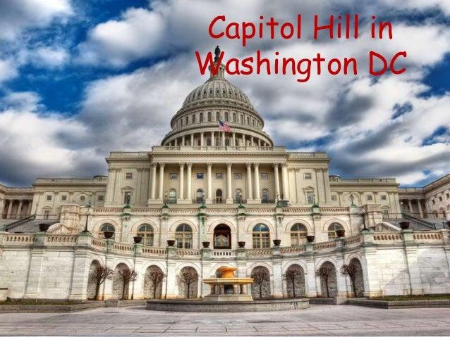 Capitol Hill In Washington DC ...