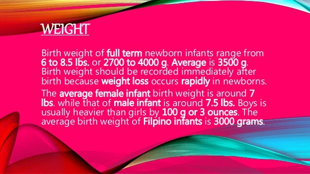 neonate weight loss after birth