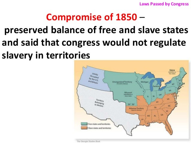 essays on compromise of 1850 Your essay, you should strive to support your assertions both by citing key pieces  of evidence  compromise of 1850  (december 1850.