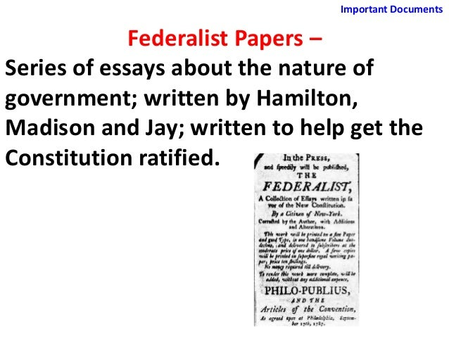 Important papers and documents
