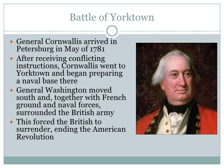 Important People And Events Of The American Revolution