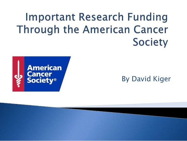 the importance of cancer research How to write an effective discussion  make suggestions for further research  explain the meaning and importance of the findings.