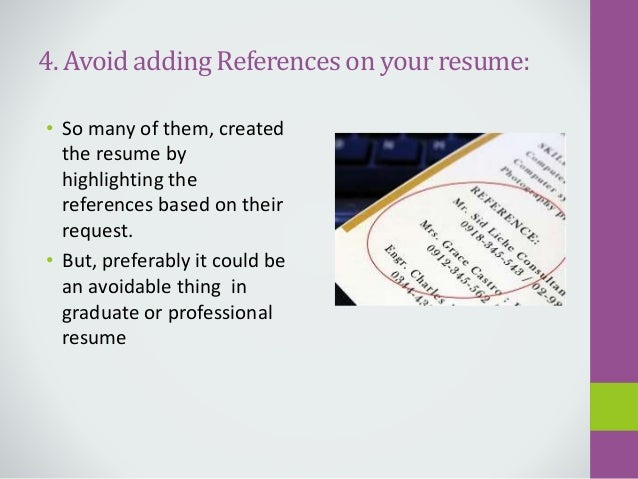 important things to write in a graduate students resume - Things To Write In A Resume