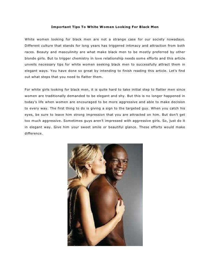 White male attraction to black female