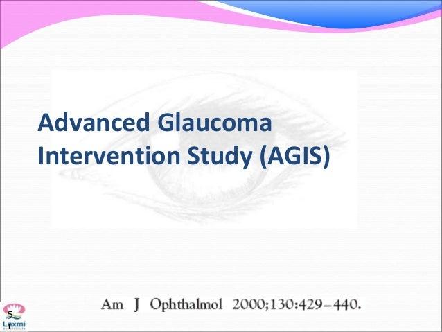 Advanced Glaucoma Intervention Study (AGIS) 5 1