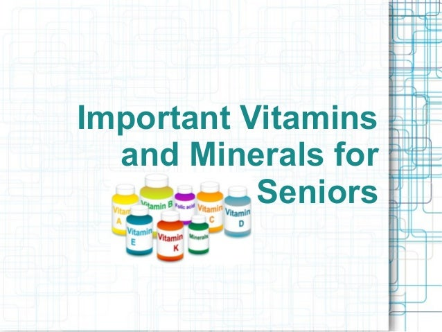 Vitamins: Water and Fat Soluble