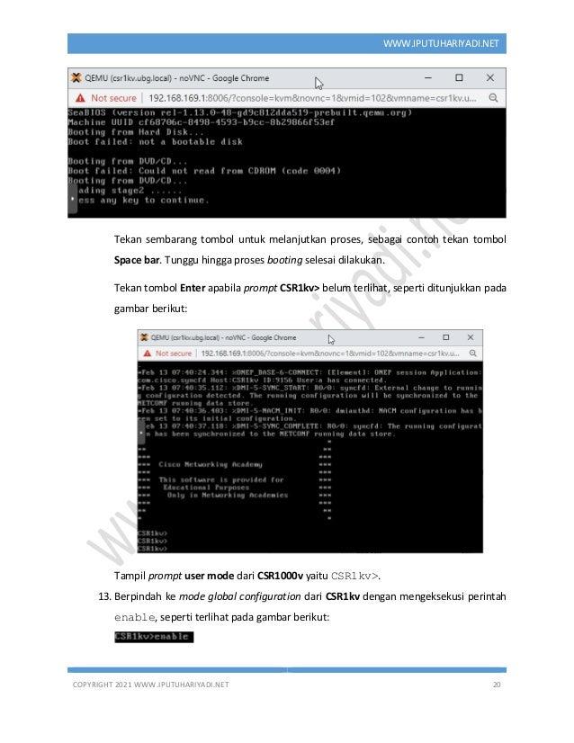 COPYRIGHT 2021 WWW.IPUTUHARIYADI.NET 20 WWW.IPUTUHARIYADI.NET Tekan sembarang tombol untuk melanjutkan proses, sebagai con...