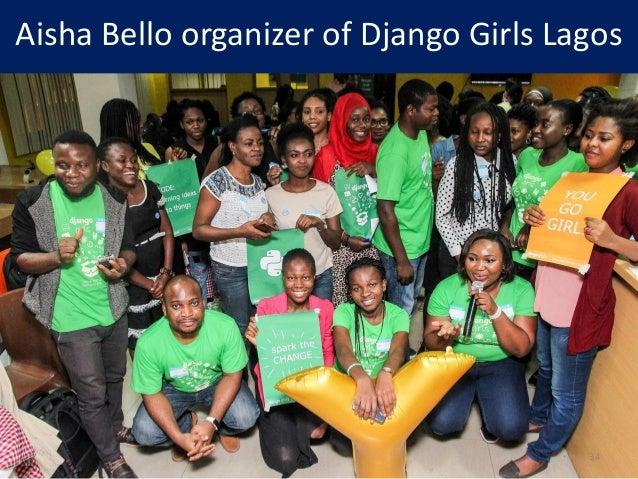 Aisha Bello organizer of Django Girls Lagos 34