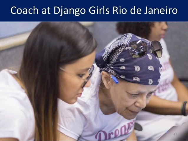 Coach at Django Girls Rio de Janeiro 43