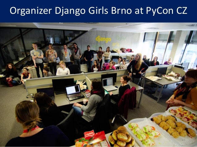 Organizer Django Girls Brno at PyCon CZ 45