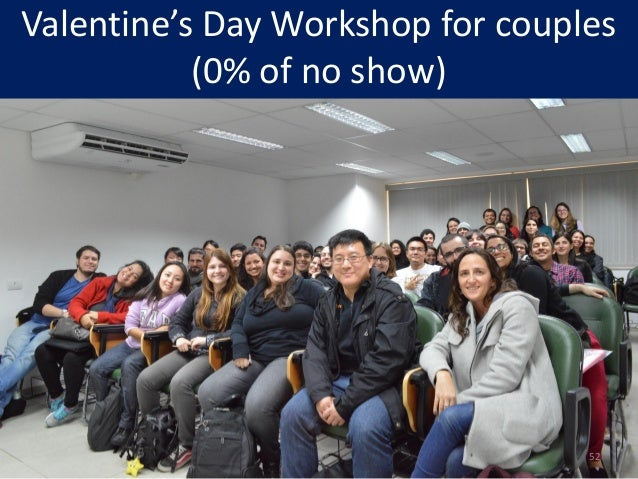 Valentine's Day Workshop for couples (0% of no show) 52