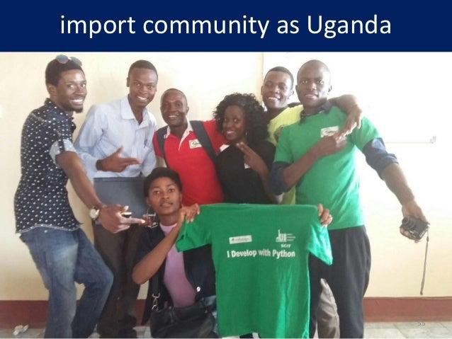 import community as Uganda 55