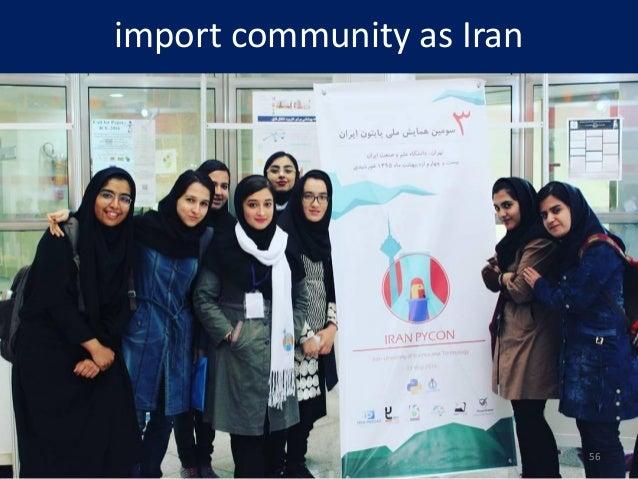 import community as Iran 56