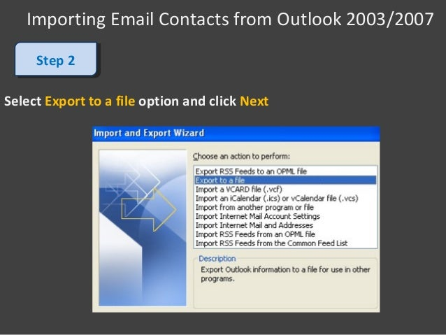 how to add contacts in outlook 2007
